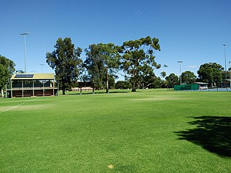 Millswood, South Australia - Image: Goodwood Oval March 2018