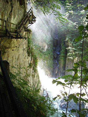 Bovernier - Gorges du durnand at Bovernier