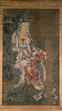 Avalokiteshvara painting from the Korean Goryeo Dynasty, 1310 CE.