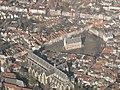 Gouda, vanuit de lucht met stadhuis RM16843 en de Grote of Sint Janskerk RM16722 foto3 2014-03-09 10.41.jpg