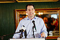 Governor of Wisconsin Scott Walker at Belknap County Republican LINCOLN DAY FIRST-IN-THE-NATION PRESIDENTIAL SUNSET DINNER CRUISE, Weirs Beach, New Hampshire May 2015 by Michael Vadon 11.jpg