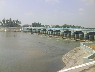 Karikala - Kallanai built by Karikala Chola on river Kaveri