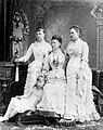 Grand Duchess Alexandra Iosifovna with her daughter and granddaughters.jpg