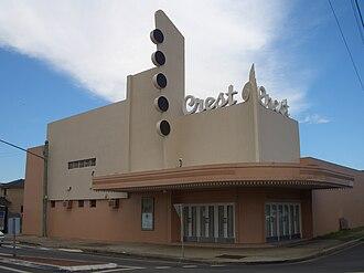 "Granville, New South Wales - The ""Crest"" Theatre, originally a movie theatre."