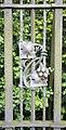 Grape pattern on Davenham gateway - geograph.org.uk - 1327513.jpg