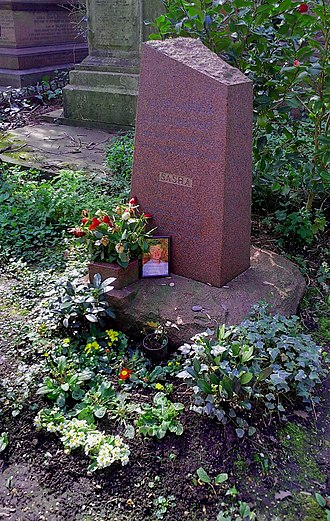 Alexander Litvinenko - Litvinenko's grave in 2017.