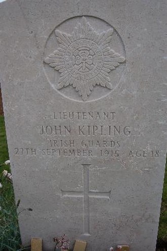 John Kipling - John Kipling's grave.