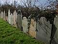 Gravestones, St Stephen's Church, Saltash - geograph.org.uk - 1194250.jpg