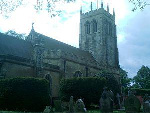 St Mary's Church, Greasley - St Mary's Church, Greasley