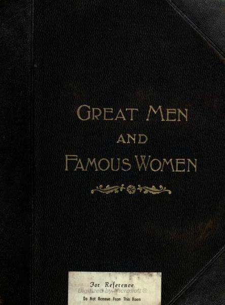 File:Great Men and Famous Women Volume 3.djvu