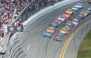 NASCAR - The start of the 2015 Daytona 500.