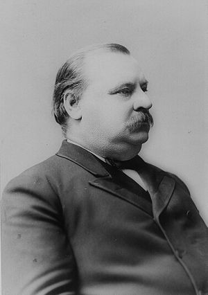 United States presidential election in Virginia, 1888 - Image: Grover Cleveland Portrait