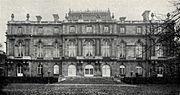 GuentherZ 0028 Wien04 Palais Freiherr Albert von Rothschild Heugasse26 Gartenseite