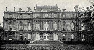 Palais Albert Rothschild - Palais Albert Rothschild, garden front