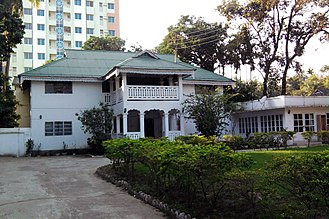 Bungalow - The bungalow style house in Bangladesh, locally known as Banglaghar.