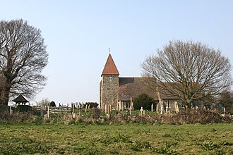 Guestling - Image: Guestling Church geograph.org.uk 451653