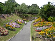Guildford castle gardens