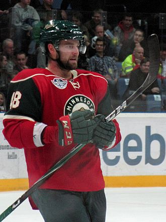 Guillaume Latendresse - Latendresse during his time with the Wild.