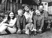 Gullan Bornemark med familie 1967. jpg
