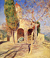 Guy Rose - The old church at Cagnes.jpg