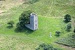 Gyepükaján, Árpád-kori templom légi felvétel.jpg
