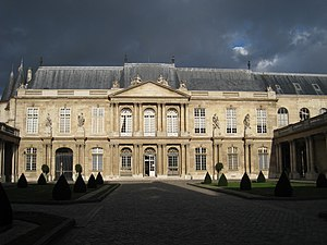 House of Rohan - Hôtel de Rohan-Soubise, Paris  (completed in 1705)