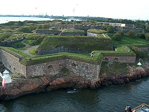 English: Fortress of Suomenlinna in Helsinki i...