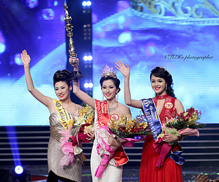 Miss Vietnam National beauty pageant competition in Vietnam