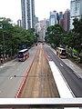 HK CWB 銅鑼灣 Causeway Bay 高士威道 Causeway Road footbridge view Sunday June 2019 SSG 02.jpg