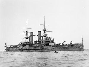 HMS Triumph (1903) - Image: HMS Triumph IWM Q40369