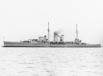 HMS Exeter (68) at anchor in the 1930s.jpg