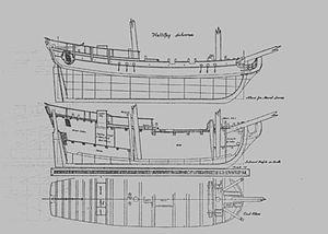 HMS Halifax (1768) - Image: HMS Halifax Draught 1c