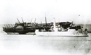 HMSAS Afrikander - HMS Mastiff