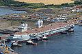 HMS Queen Elizabeth in Rosyth Dockyard MOD 45158230.jpg