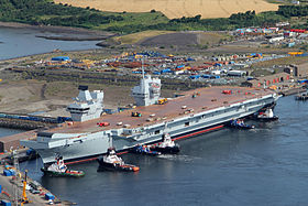 Image illustrative de l'article HMS Queen Elizabeth (R08)