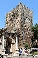 Hadrian's Gate, Antalya 03.jpg