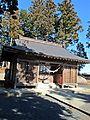 Haiden of Keisoku-jinja shrine at Kashima ward,Minami-soma city.JPG