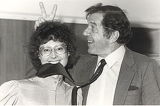 Australian Democrats - Janine Haines and Don Chipp, the first two leaders of the Australian Democrats