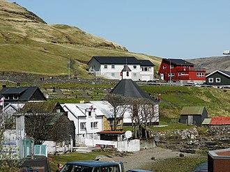 Haldórsvík - A view Haldórsvík.