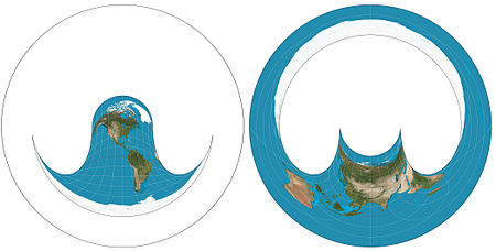 Hammer retroazimuthal projection