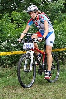 Hana Bajtošová Slovak mountain bike orienteer