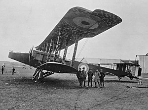 Handley Page Type O - Image: Handley Page 0 100 aircraft