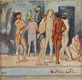 Hans von Faber du Faur In der Badeanstalt 1920.jpg