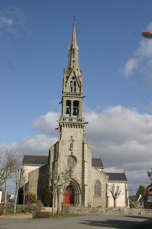 Hanvec - The Church of Saint-Pierre, in Hanvec