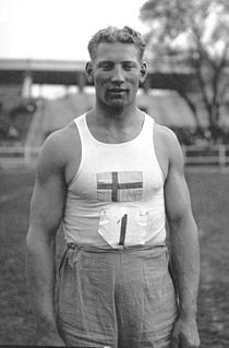 Harald Andersson Swedish discus thrower