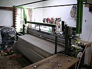 Tweed loom, Harris, 2004
