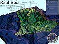 Harta 3D pentru Bazinul hidrografic al Raului Boia, afluent al Oltului.jpg