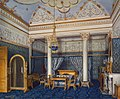 Hau. Interiors of the Winter Palace. The Bedchamber of Empress Alexandra Fyodorovna. 1870.jpg