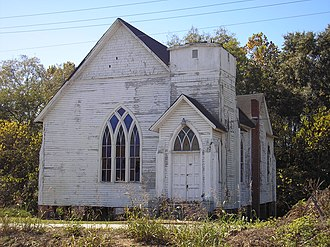 National Register of Historic Places listings in Burke County, Georgia - Image: Haven Memorial Methodist Episcopal Church