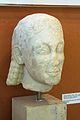Head of Kouros, marble, 580 BC, AM Paros, 144011.jpg